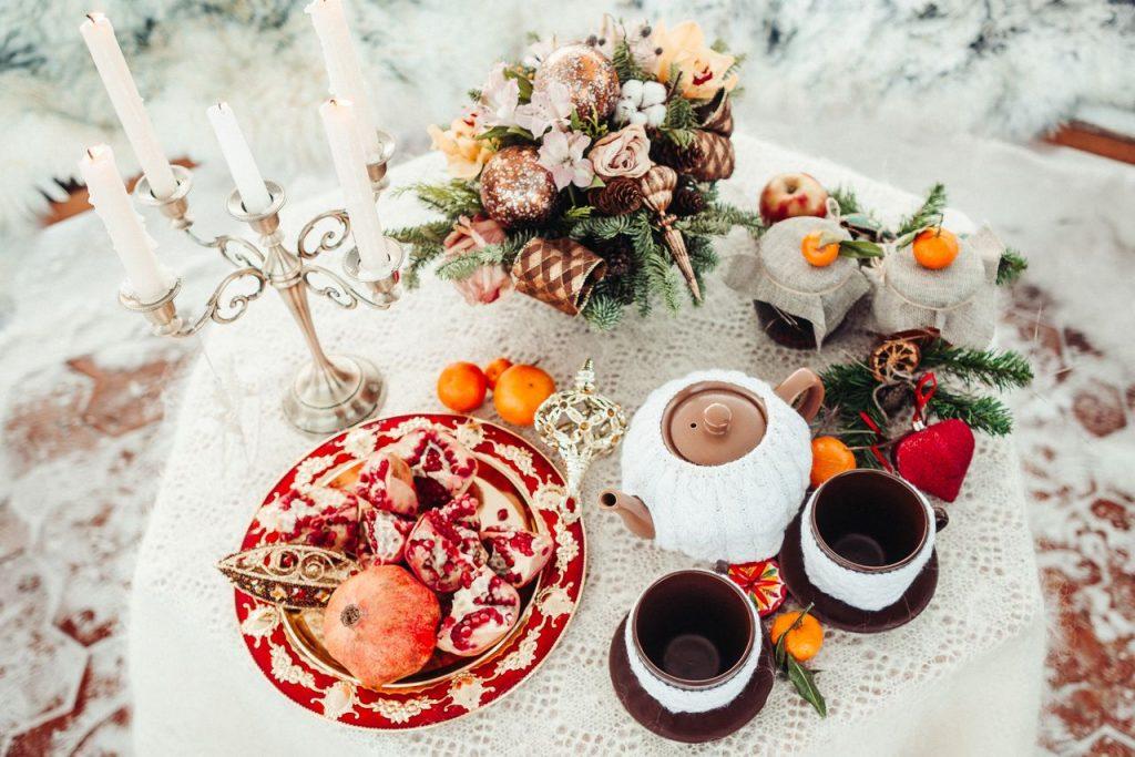 произнесения чаепитие в городе зимой фото обычно